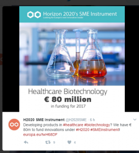 Healthcare bio 2017 sme